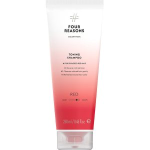 Тонирующий шампунь для поддержания цвета окрашенных волос Four Reasons Color Mask Toning Shampoo Red Красный