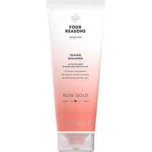 Тонирующий шампунь для поддержания цвета окрашенных волос Four Reasons Color Mask Toning Shampoo Rose Gold Розовое золото