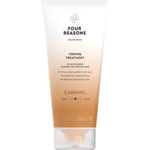 Тонирующая маска для поддержания цвета окрашенных волос Four Reasons Color Mask Toning Treatment Caramel Карамель