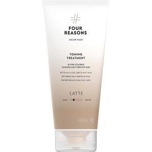 Тонирующая маска для поддержания цвета окрашенных волос Four Reasons Color Mask Toning Treatment Latte Латте