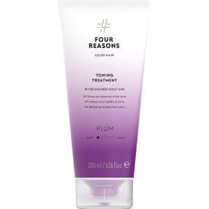 Тонирующая маска для поддержания цвета окрашенных волос Four Reasons Color Mask Toning Treatment Plum Слива