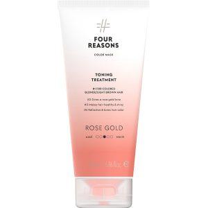 Тонирующая маска для поддержания цвета окрашенных волос Four Reasons Color Mask Toning Treatment Rose Gold Розовое золото