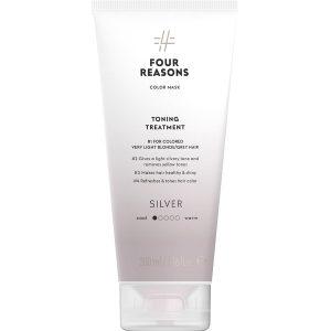 Тонирующая маска для поддержания цвета окрашенных волос Four Reasons Color Mask Toning Treatment Silver Серебро