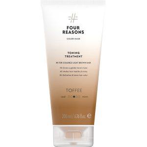 Тонирующая маска для поддержания цвета окрашенных волос Four Reasons Color Mask Toning Treatment Toffee Ирис